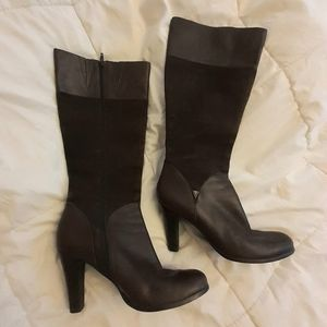 Victor Alfaro suede/leather boots size 8.5